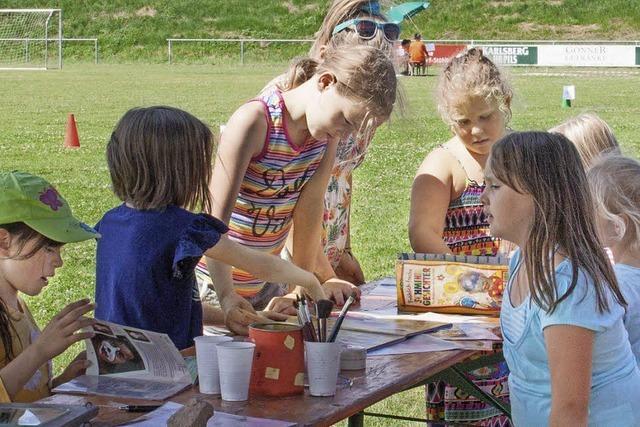 Auf Schusters Rappen zum Sommerfest
