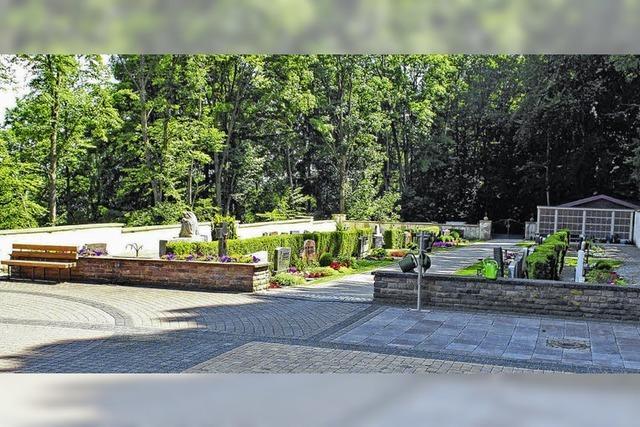 Hinterer Friedhofsteil wird umgestaltet