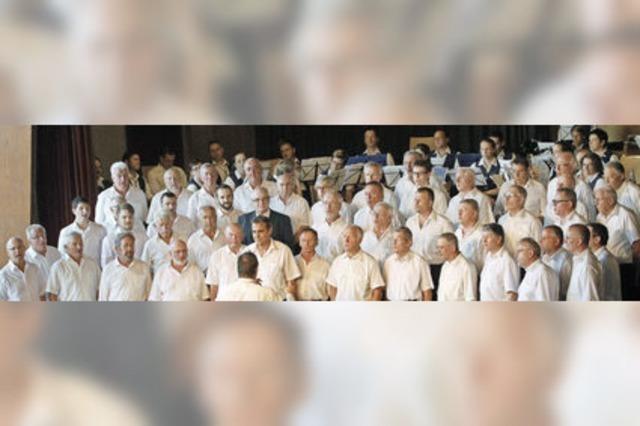 Singen tut der Seele gut – und verbindet Menschen