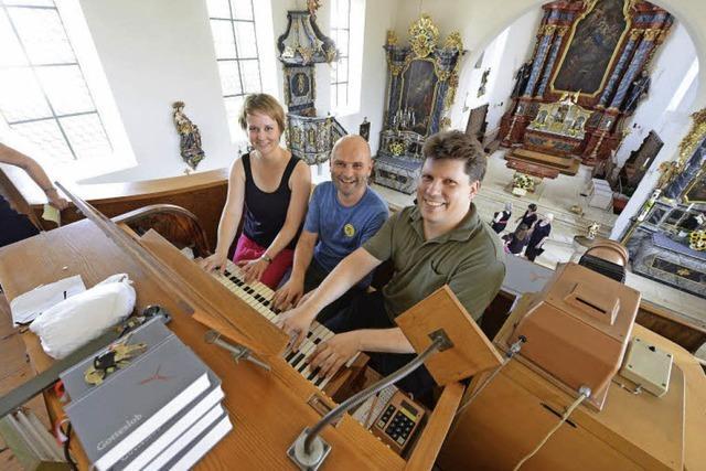Mit Schrott die Orgel fit machen