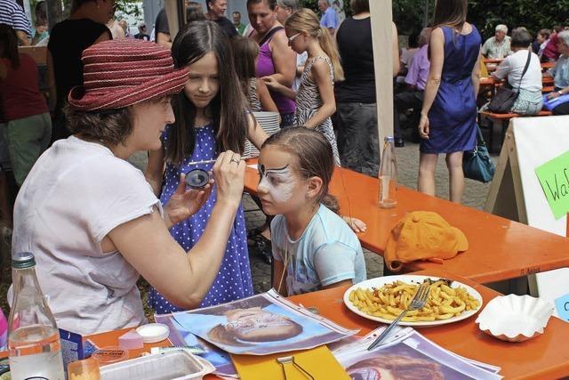 Aus dem Pfarrgartenfest wurde ein Gemeindehausfest