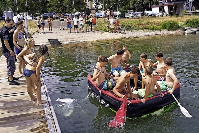 Gifiz-Sommerregatta endet in der Rettungsinsel