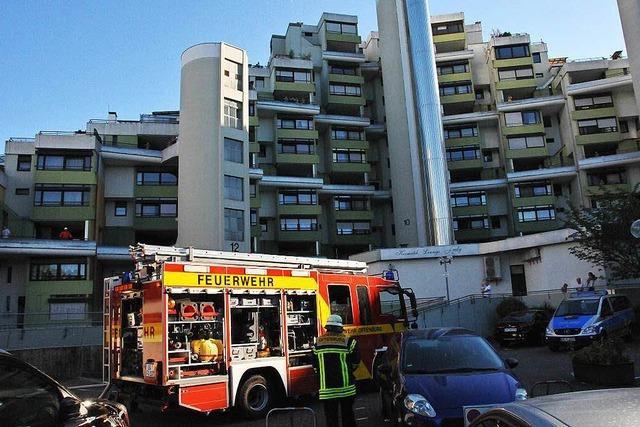 Drei Verletzte bei Brand im