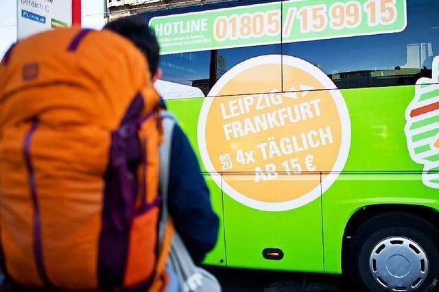 Freiburg bekommt fünf neue Fernbuslinien