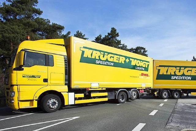 25-Meter-Lang-Laster rollen durch den Südwesten