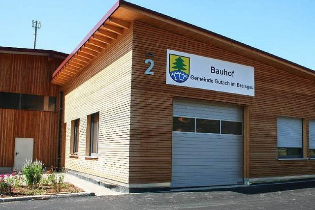 Bauhof-Einweihung in Gutach als großes Bürgerfest