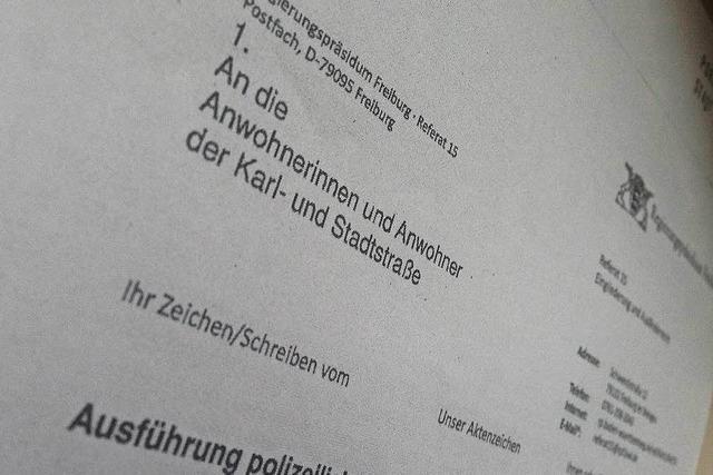 Polizei ermittelt wegen gefälschter Briefe, die in Herdern und in der Wiehre verteilt wurden