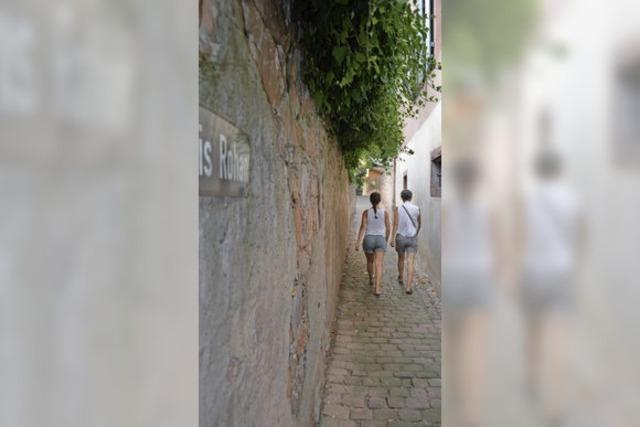 Stammgässle-Mauer wird zum Sanierungsfall