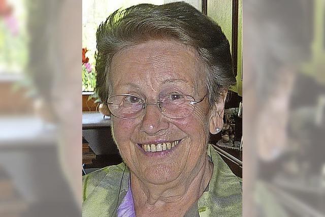 Marie Demmler wurde 80 Jahre
