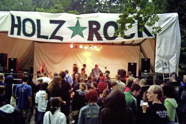 Im Schopfheimer Sengelen steigt am Wochenende das Holzrock-Open-Air