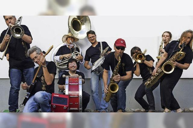 Die Funky Marching Band in Freiburg