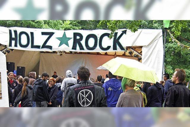 Im Schopfheimer Sengelen steigt das Holzrock-Open-Air