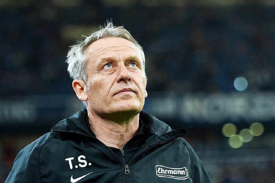 Der Tipp von Christian Streich vom SC Freiburg: Kaiserslautern, Karlsruhe und Leipzig. (Foto: dpa)