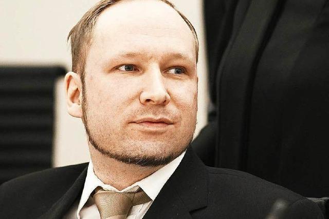 Massenmörder Breivik will den Staat verklagen
