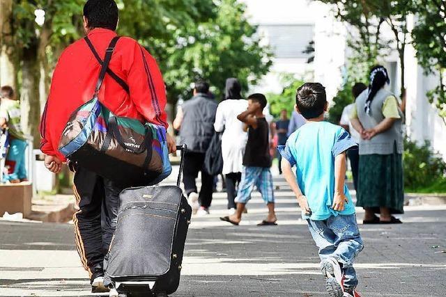 Wachsende Flüchtlingszahlen: Sorge um sozialen Frieden
