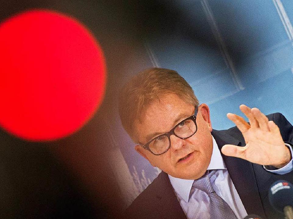 CDU-Spitzenkandidaten Guido Wolf will nicht mitmachen.  | Foto: dpa