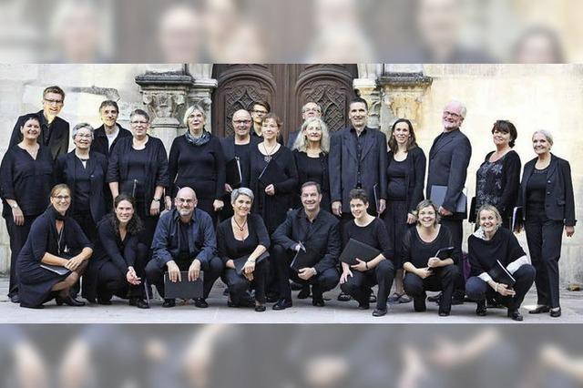 Das Vocalconsort unter Markus Mackowiak gibt Münsterkonzert in Bad Säckingen