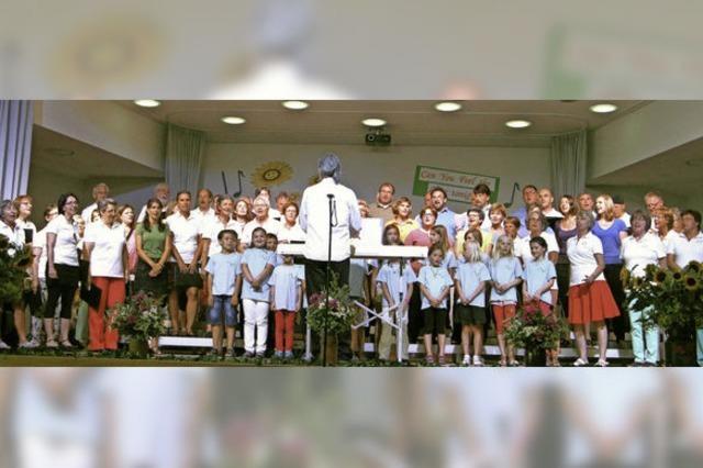 Große Bühne für kleine Sänger
