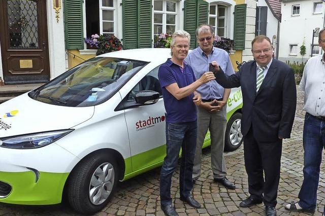 Elektroauto für Teningen