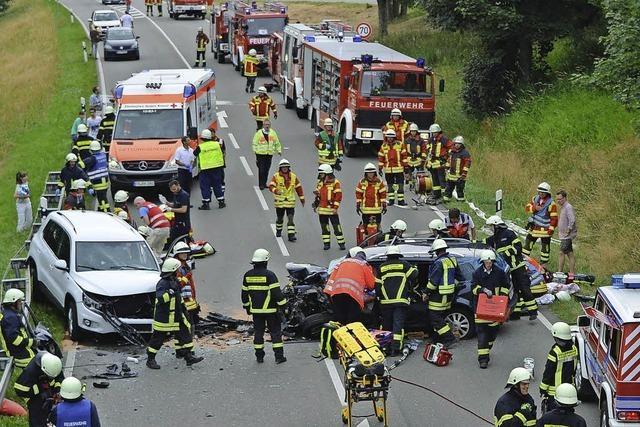 B 31: Sechs Schwerverletzte