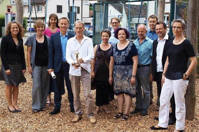 Leiter der Astrid-Lindgren-Schule Bernhard Werner verabschiedet