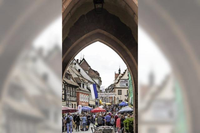 Einkaufsstadt Endingen behauptet sich gegen die Konkurrenz