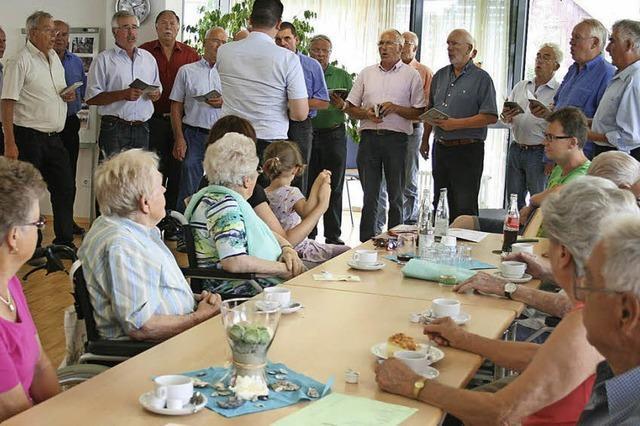 Das letzte Sommerfest im Luise-Klaiber-Haus