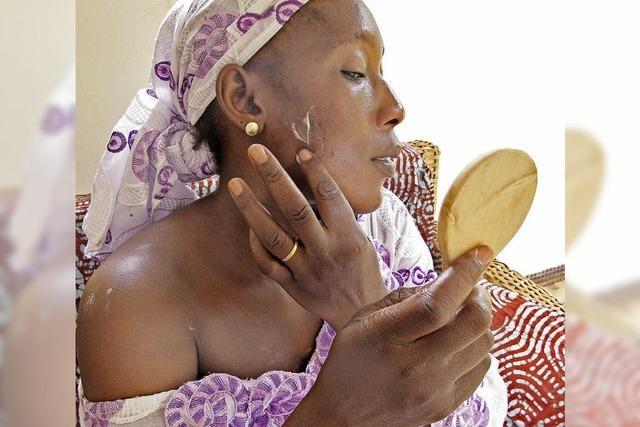 Hautbleichmittel sind in Afrika ein großer Trend