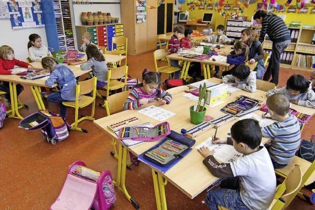 Grundschulen wachsen