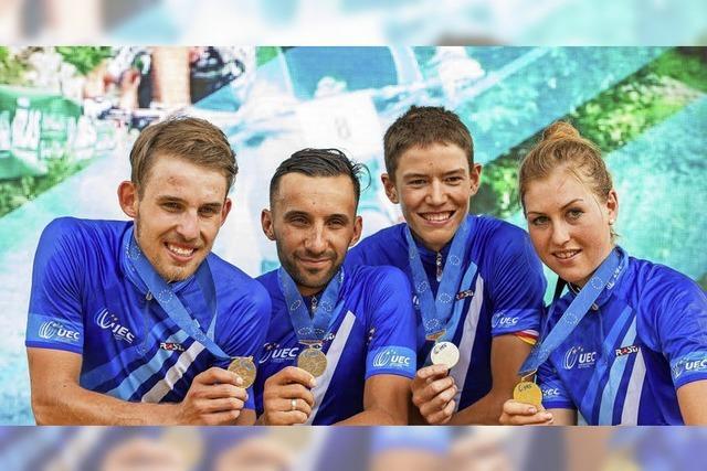 Gold für die deutsche MTB-Staffel