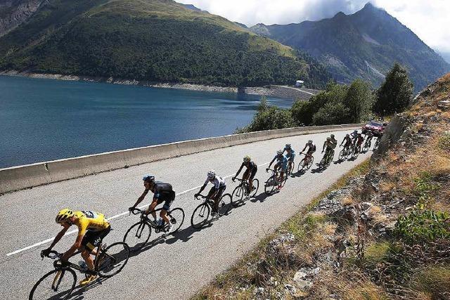 Christopher Froome bleibt Spitzenreiter der Tour de France