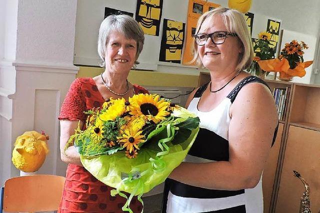 Rektorin Anne Wernet verabschiedet sich von der Schwarzenbergschule Waldkirch