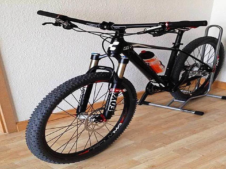"""Die Täter erbeuteten dieses Mountainbike der Marke """"Cube"""".    Foto: Polizei Freiburg"""