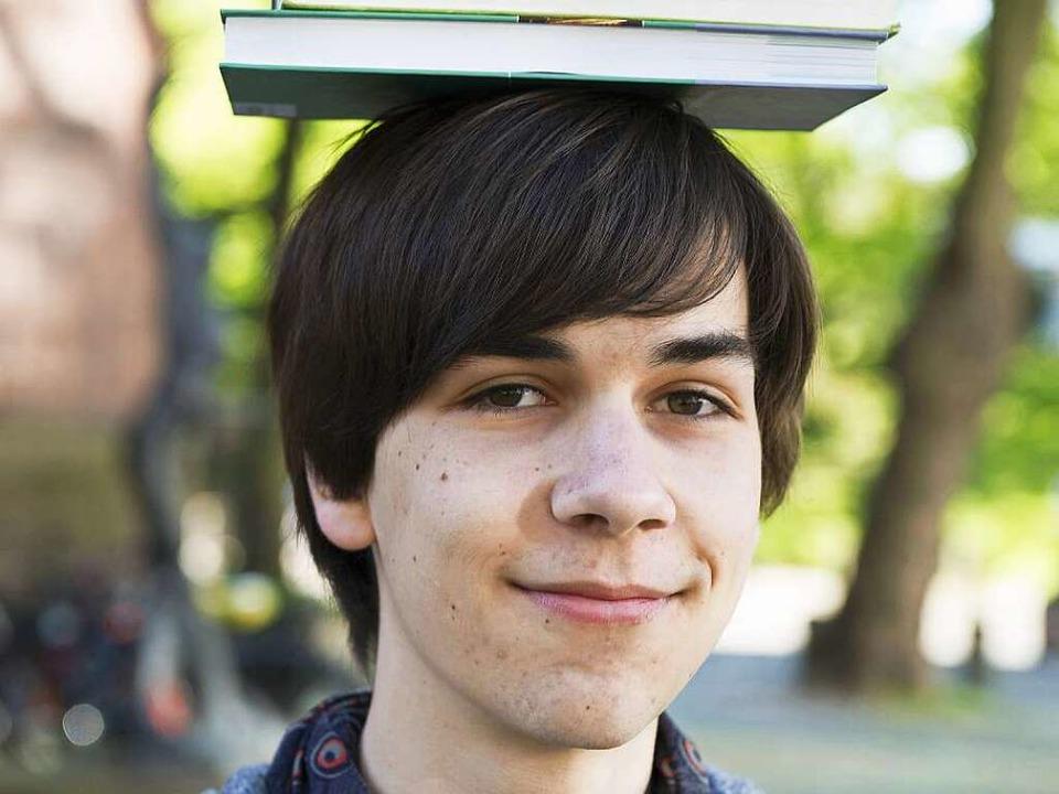Jan Steinebrunner (17) aus Todtnau,  M...ierte schon mit 13 an der Uni Freiburg  | Foto: Daniel Schoenen