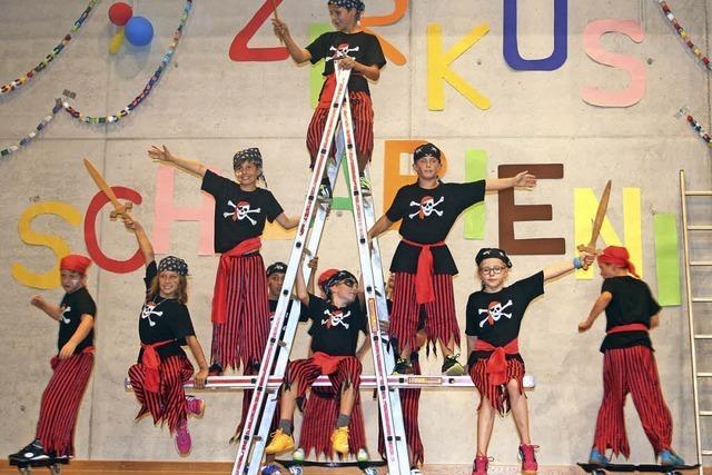 Wenn 132 Mädchen und Jungen zu Zirkusstars werden