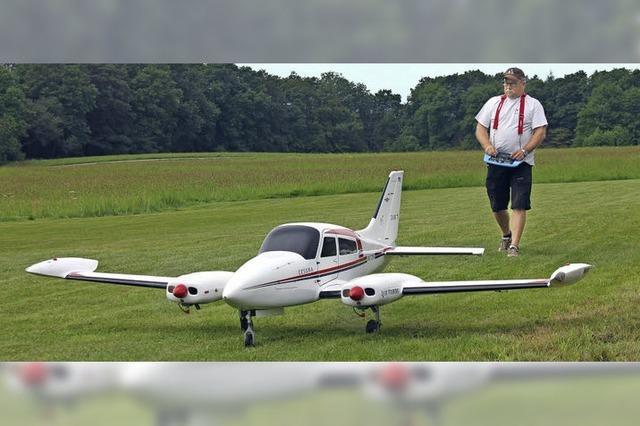 Modellflugtage auf dem Fluggelände in Harpolingen