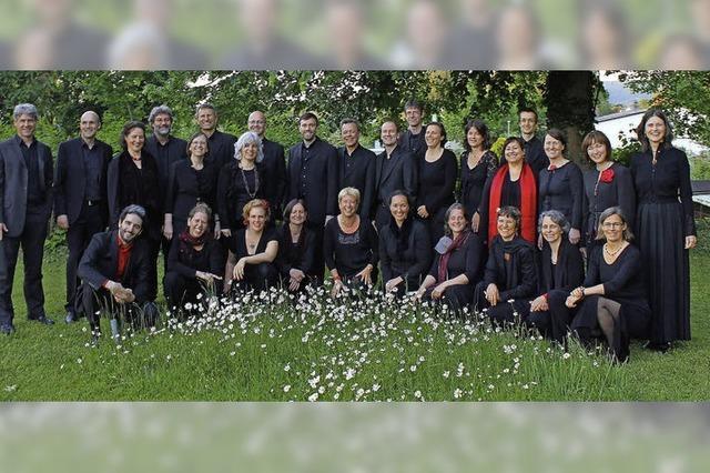 John-Sheppard-Ensemble in Freiburg Ebnet