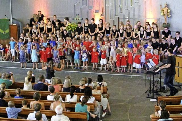 Der Spaß am Singen und Musizieren hat Priorität