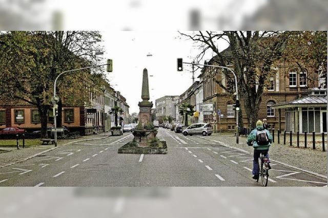 Ein Obelisk für den neuen Platz?