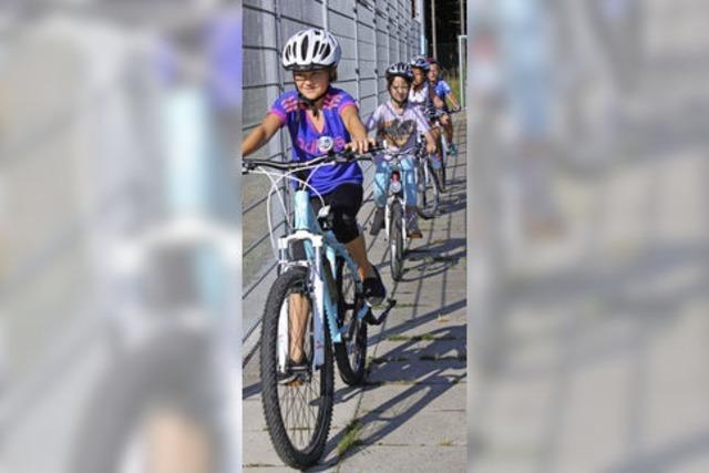Sicheres Radfahren will gelernt sein