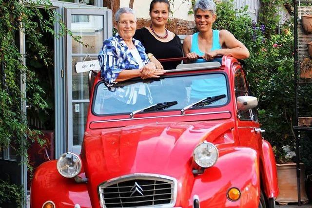 Kult in Ettenheim: Ein Auto, 43 Jahre, vier Generationen