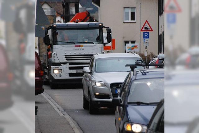 Lkw-Verbot für Altweil wird geprüft
