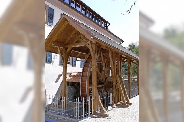 Historische Mühlen in Müllheim