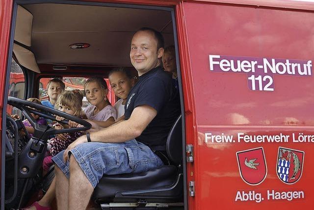 Feuerwehr in der Bevölkerung verankert
