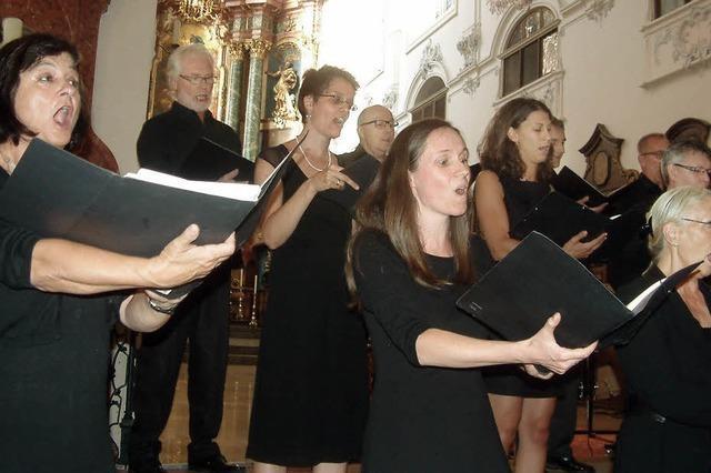 Das Vocalconsort Bad Säckingen – ein exzellent singender Chor