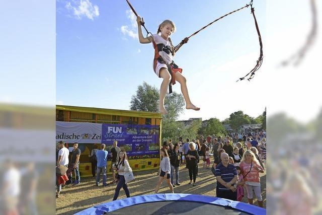 Seefest im Seepark: Runder Jahrestag, runde Sache