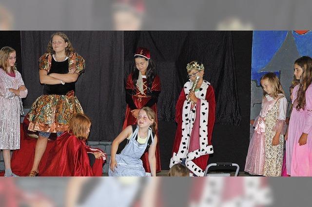 Wie die stolze Prinzessin beim Musikanten ihren Hochmut verliert
