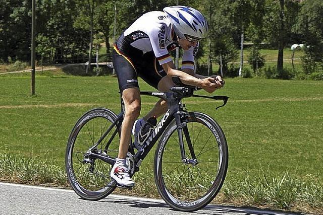 Steffen Warias fährt an die Spitze im Gesamtklassement