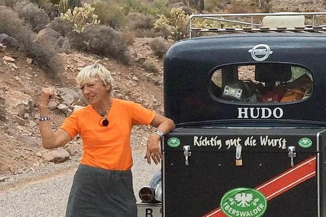 78-jährige Heidi Hetzer erreicht mit Oldtimer die USA