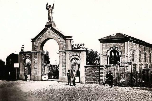 So entstand der heutige Freiburger Hauptfriedhof